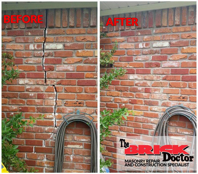 masonry crack repair