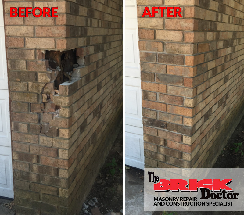 brick replacement and restoration