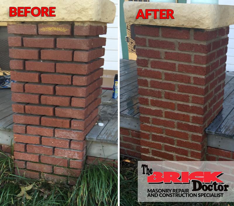 proper brick work