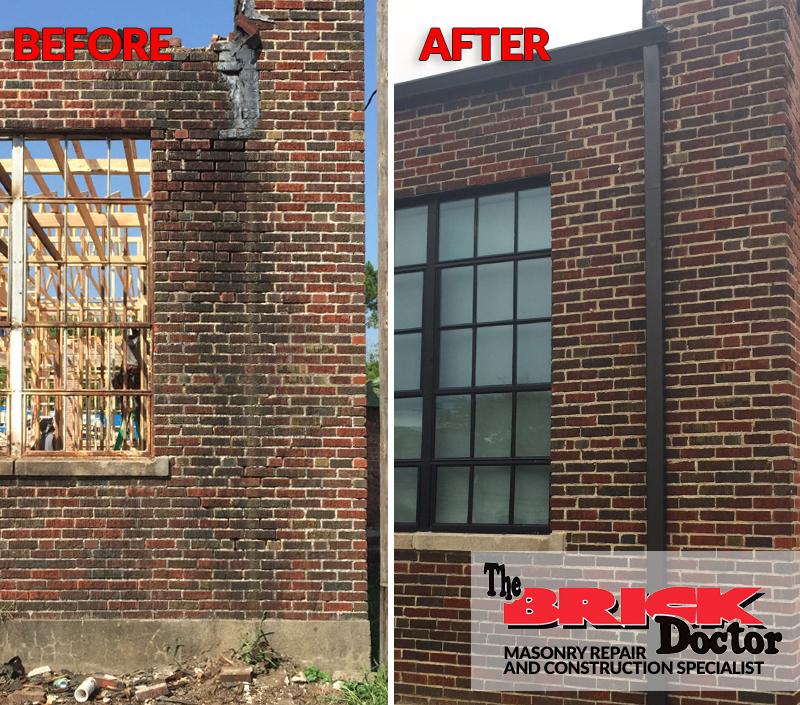 masonry repair and finish