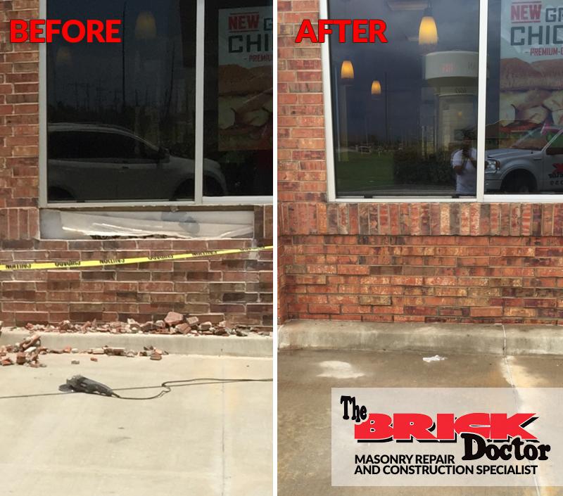 brick repair and replacement